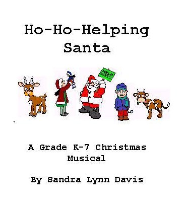 Ho-Ho-Ho Helping Santa, by Sandra Lynn Davis