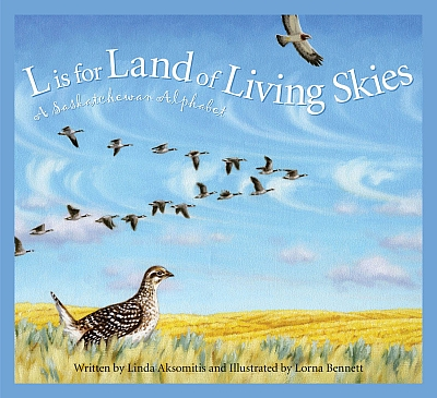 Land of Living Skies, by Linda Aksomitis