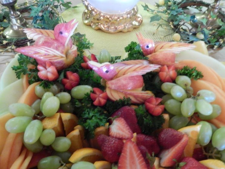 Fruit Salad at Cedar Lodge, 2014