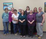 2016 at Kenosee Lake - Anne, Sandra, Alison, Gillian, Judith, Paula Jane, Pat, Sharon, Dianne