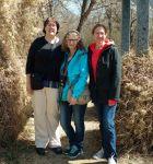 Paula Jane, Linda, and Sandra in Moose Jaw, 2017